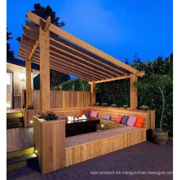 2016 de alta calidad con bajo precio al aire libre Patio Gazebo Pavilion