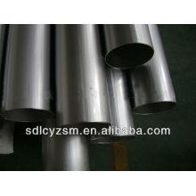 Tubo de acero al carbono sin costura laminado en caliente para material de construcción