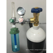 10L Breathing Oxygen Cylinder with Italia O2 Valve & Regulator Sets