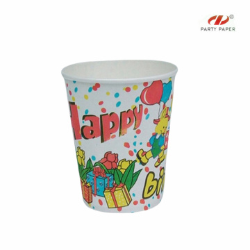 Featured Cold Drink Paper Cups With Cartoon