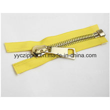 8 # Open End Metal Zipper Big Size Zipper