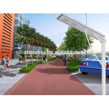 50w tudo em uma luz solar do jardim, lista de preço do painel solar com economia verde da companhia de Shinehui