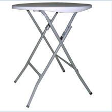 Пластиковый круглый складной стол для наружного применения
