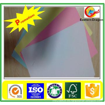Papel bond de calidad superior en color de impresión