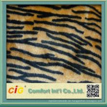 Hochwertiger bunter gefälschter Tiger Pelz