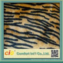 High Quality Colorful 100% Polyester Fake Fur Fabric