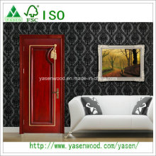 Chine Porte en bois massif de style français de haute qualité