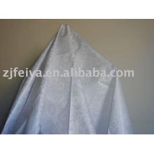 10 yardas Stock Damask Shadda Bazin Riche Guinea Brocade tela color blanco venta de tela de moda africana buen precio 100% algodón