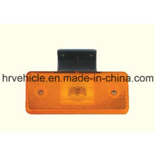 Retangle Shape Amber LED Side Marker Clearance Lamp for Truck