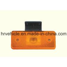 Retângulo forma Amber LED Side Marker Apuramento Lâmpada para Caminhão