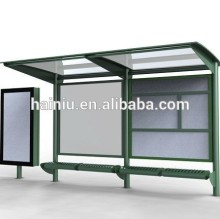 bus shed, bus shelter size