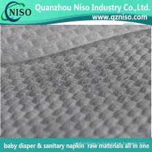 2016 новый дизайн 3D тиснением пеленки верхний слой нетканый материал с SGS сертификации