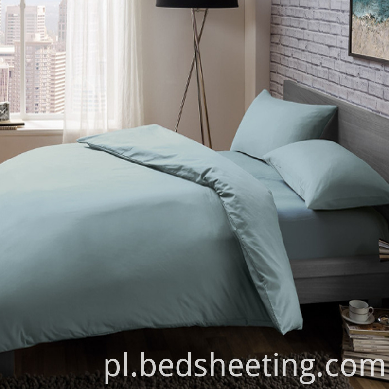 Cvc Percale Quilt Cover Blue