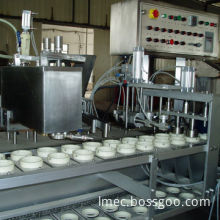 Ice Cream Filling Machine, Used for Producing Different Types and Colors of Ice Creams