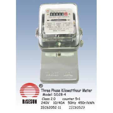 Three Phase Watt Hour Meter