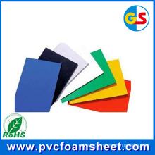 Fabricante de folha de espuma de PVC preto (tamanho quente: 1.22m * 2.44m)