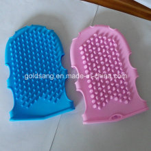 Comfortable and Practical Silicone Massage Bath Glove