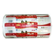 Película de plástico de yogur / Película de rollo de alimento / Película de plástico de leche