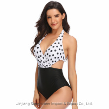 New Hot Selling One-Piece Swimsuit for Women Multi-Color Print Sexy Fashion Bikini