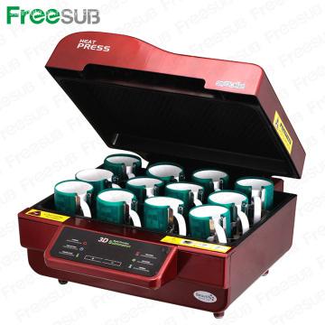 FREESUB Caja de teléfono Máquina de Sublimación de Presión de Calor