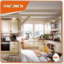 ASKP01 armário de cozinha de design moderno pvc