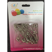 #4 Safety Pin in Blister Card, Manufacturer Price