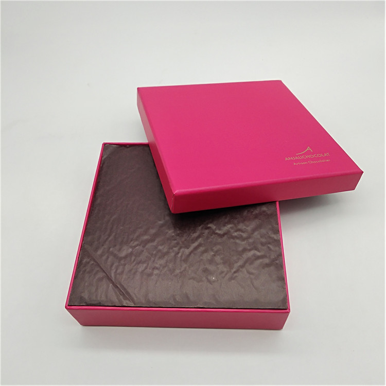 Chocolate Box With Pad