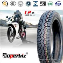 Высокая мощность мотоцикла бескамерная шина (110/90-16)