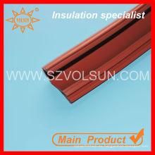Material de línea aérea eléctrica de goma de silicio de alto voltaje