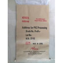 ПВХ используется для обработки акрилового помощи
