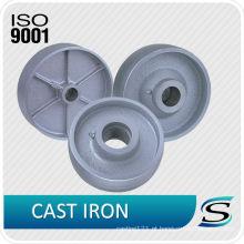 rodas de ferro fundido industrial