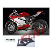 Pièces de moto en fibre de carbone Panneau de ventre Ducati 1199 Panigale