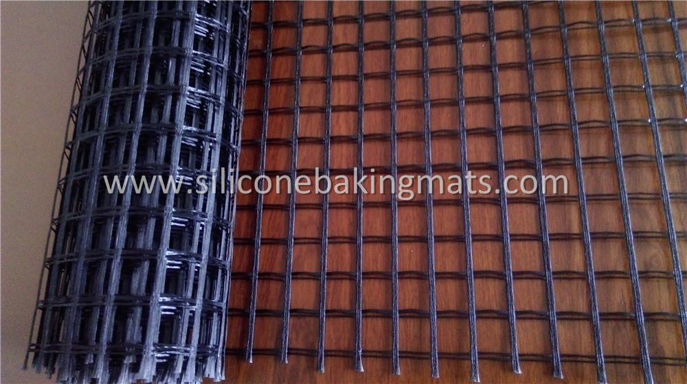 Unaxial Pet Geogrid For Retaning Wall