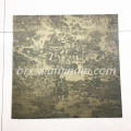 Etching anodized aluminum artistic sheet