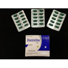Doxiciclina cápsulas BP 100mg