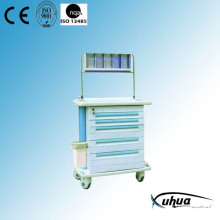 Whole ABS Plastic Hospital Medical Anaesthetic Cart (P-3)