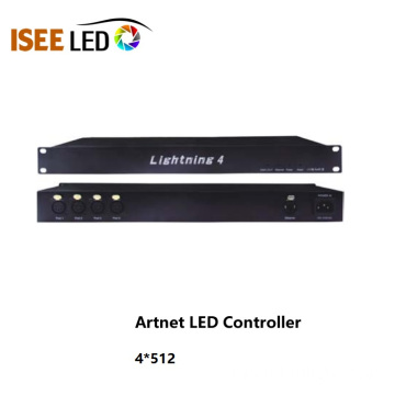 DMX Led Controller 12 sorties