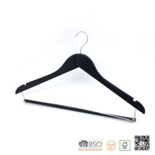 Black Hospital Locked Bar Clothes Coat Storage Hanger