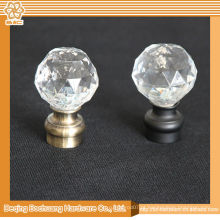 8/10/13/16/19/22/25 / 28mm Crystal Glass Decoração Decorativa de cortinas decorativas
