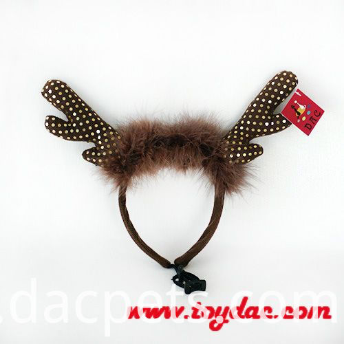 hairdress with elk horns