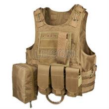 Combattre la veste gilet de combat militaire armée gilet ISO et SGS Standard