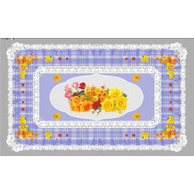 LFGB Tudo em Um Projeto Independente (TZ-0024) Impresso Toalha De Mesa Transparente 90 * 145 cm
