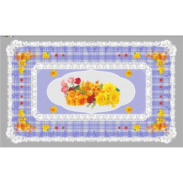 Diseño todo en uno LFGB independiente (TZ-0024) Mantel transparente impreso 90 * 145cm