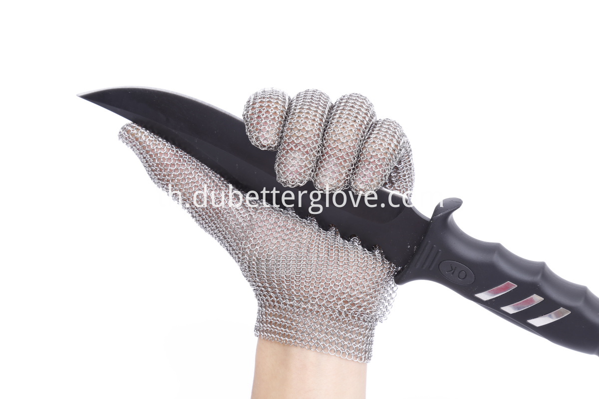 Dubetter Mesh Butcher Glove Metal Claw