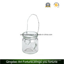 Tealight Glass Lantern Candle Holder for Outdoor Decoration