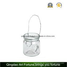 Teelicht Glas Laterne Kerzenständer für Outdoor Dekoration
