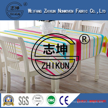 Color PP Nonwoven Fabric of Table Clothing
