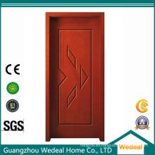 Personalice la puerta de madera sólida laminada MDF HDF del PVC