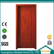 Подгонять ПВХ ламинированные МДФ ХДФ твердая деревянная дверь