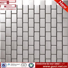 factory supply bathroom mosaic stainless steel tile price